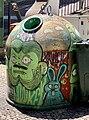 Lisbon recycling + street art (47799385042).jpg