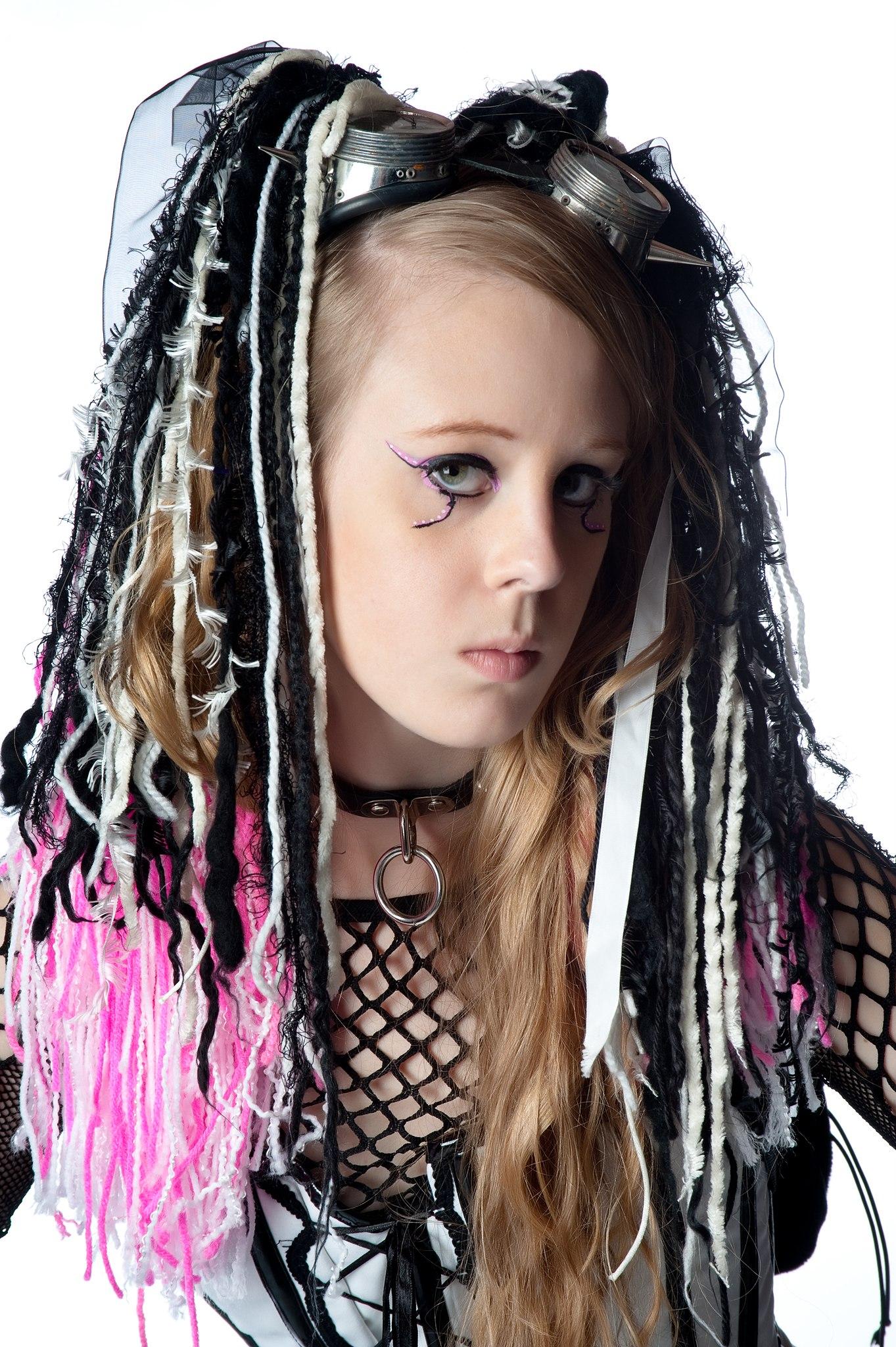 Goth cyber Cyber Goth