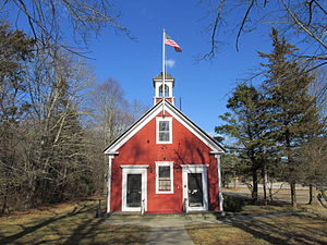 Cedarville, Massachusetts -  Little Red School House