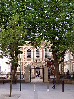 Bluecoat Chambers Grade I listed school building in Liverpool, United Kingdom