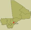 Localisation de San au Mali.png