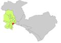 Localització de Son Armadams respecte de Palma.png