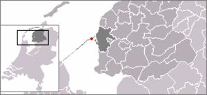 Kornwerderzand - Image: Location Kornwerderzand