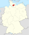 Locator map SE in Germany.svg