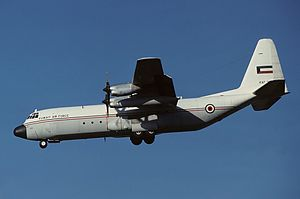 Kuwait Air Force - Kuwait Air Force Lockheed Hercules transport aircraft in 1999