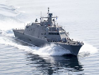 USS <i>Indianapolis</i> (LCS-17) Freedom-class littoral combat ship of the United States Navy