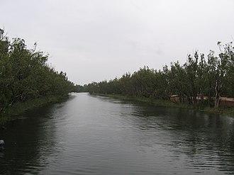 Loddon River - The Loddon River at Bridgewater.