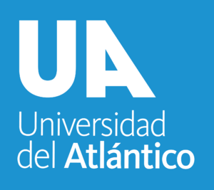 University of Atlántico - Image: Logo símbolo transparente fondo azul vertical de la Universidad del Atlántico