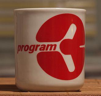 Polskie Radio Program III - A mug with the old logo of PR3 (the 1990s).