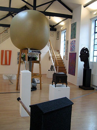 The London Group - The London Group Open exhibition 2011 at the Cello Factory, London.