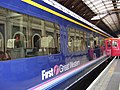 London Paddington railway station FGW Mk3.jpg