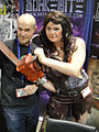 Long Beach Comic & Horror Con 2011 - Alex and a female Ash from Army of Darkness (6301706340).jpg