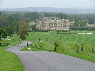 Longleat - View towards Longleat House