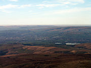 Rochdale lies in the valley of the River Roch.