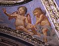Lorenzo lippi, incoronazione della vergine e angeli, 1642-43, 07.JPG