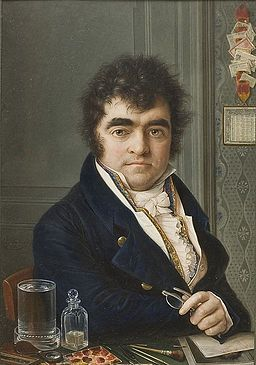 Louis-Marie Autissier, Self-portrait edit