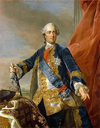 Robert-François Damiens - King Louis XV of France
