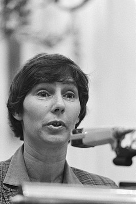 Louise Groenman in 1986
