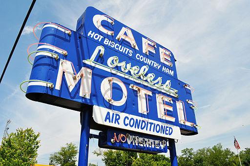 Loveless Cafe sign