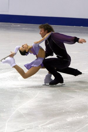 Nodari Maisuradze - Iliushechkina and Maisuradze at 2008 Junior Worlds