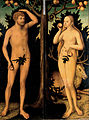 Lucas Cranach the Younger - Adam and Eve - Google Art Project.jpg