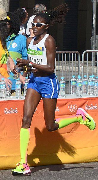 Lucia Kimani - Kimani at the 2016 Olympics