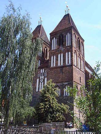 Luckau - Church of St. Nicholas in Luckau