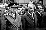 Ludvik Svoboda s Gustavom Husakom v Banskej Bystrici August 1969.jpg