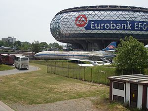 Eurobank a.d. - The Eurobank EFG is the official sponsor of the Museum of Aviation (Belgrade)