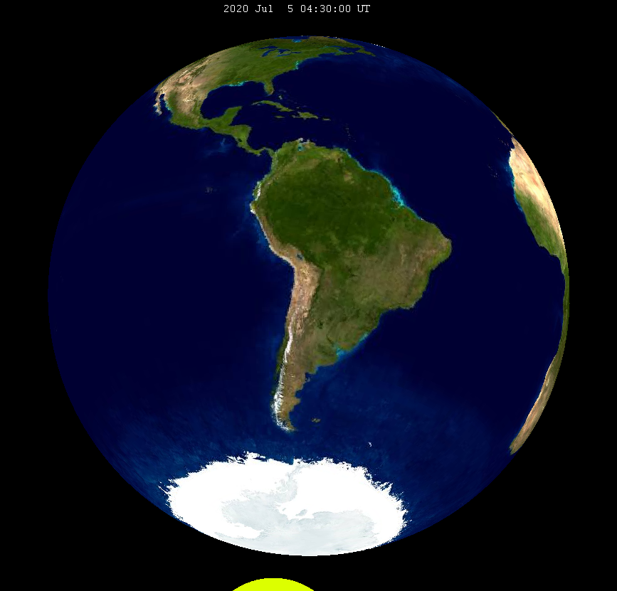 Lunar eclipse from moon-2020Jul05.png
