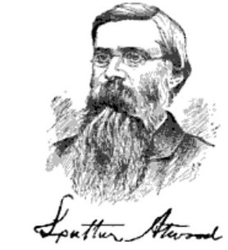 Luther Atwood - Atwood in 1868