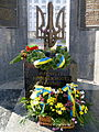 Lutsk Volynska-monument Fighters for freedom and independence of Ukraine-details.jpg
