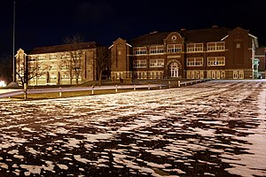 Lawrenceville, Illinois - Lawrenceville High School.