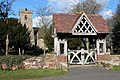 Lych Gate to Hampton Lovett church - geograph.org.uk - 133819.jpg