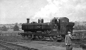 Lydney Junction railway station - Lydney Locomotive Depot in 1962