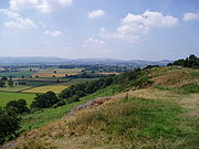 Countryside of mid-Shropshire