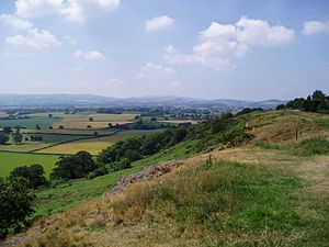 West Midlands (region) - Rural Shropshire, Lyth Hill.