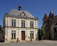 Mézières-en-Brenne mairie.JPG