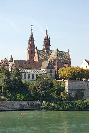 Prince-Bishopric of Basel - Image: Münster Basel 2006 870