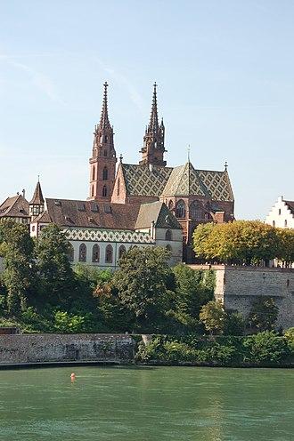 Prince-Bishopric of Basel - Image: Münster Basel 2006 870