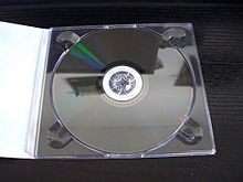 M-DISC media in an open case.