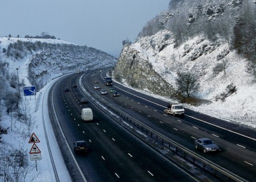 M40 - Chiltern Cutting - Stokenchurch