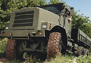 Oshkosh TAK-4 Independent Suspension System - Image: MTVR TAK 4