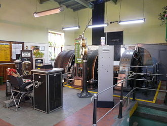 Winding engine - Electric winding engine