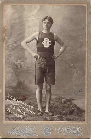 Ronald MacDonald (athlete) - Image: Mac Donald Evan Nappen,Esq. Collection