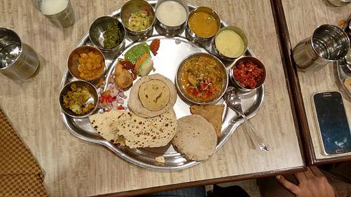 Madhya pradesh's special thali