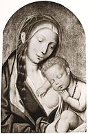 Madonna Lactans with Christ Child Sleeping.jpg
