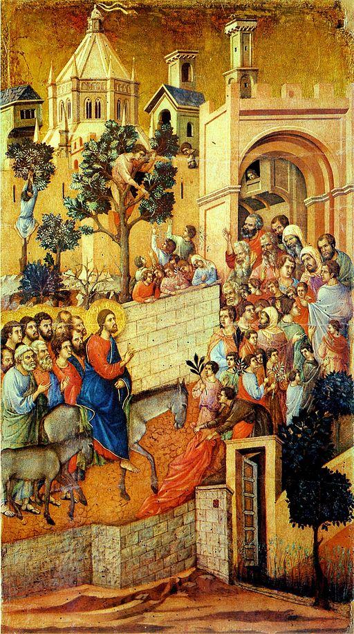Maesta.Duccio. detail