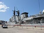 Maestrale class frigate Euro (F 575) - Harbour of Reggio Calabria - Italy - 8 July 2018 - (29).jpg