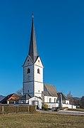 Magdalensberg Sankt Lorenzen Filialkirche hl. Laurentius SW-Ansicht 11012019 5861.jpg